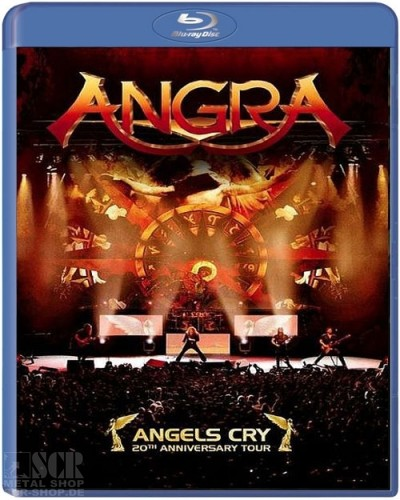 ANGRA - Angels Cry - 20th Anniversary Live [Blu-Ray]<br>(BLURAY)